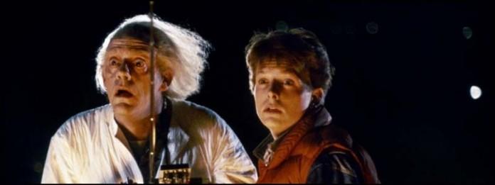 Назад в будущее машина времени фильмы