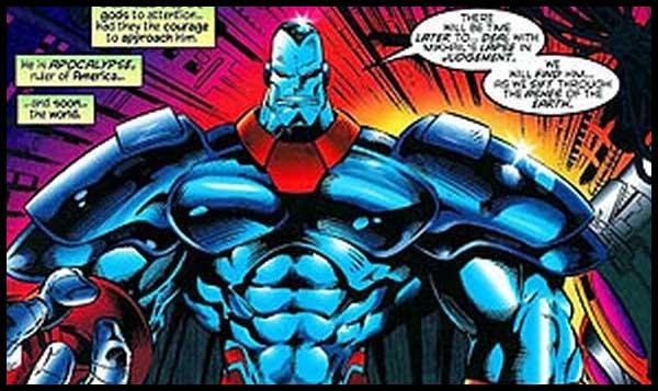 События в комиксах Marvel: Эра Апокалипсиса комикс