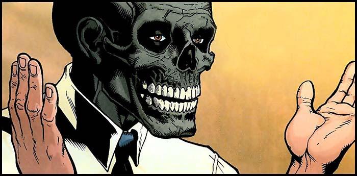 Черная маска DC биография комикс