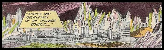Криптон история планеты