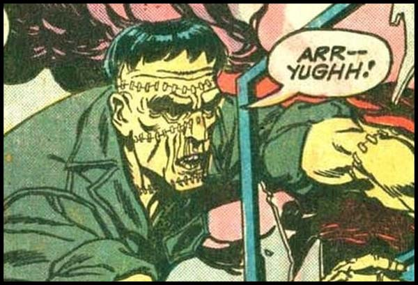 Чудовищный Отряд marvel комиксы