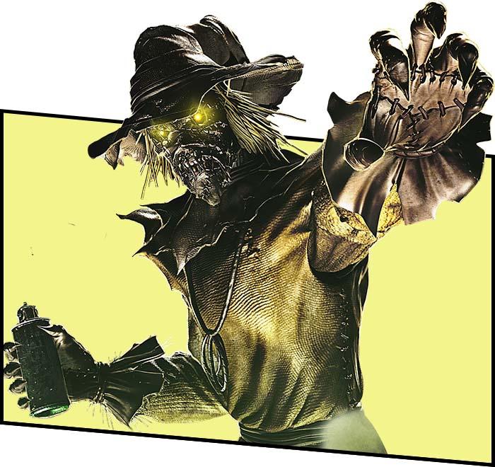 Пугало комиксы DC