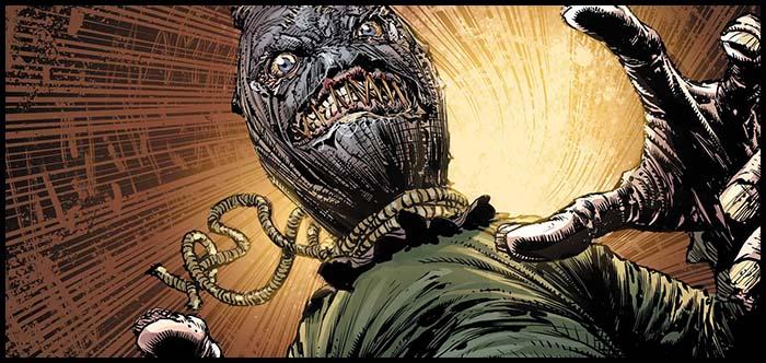 Пугало комиксы DC история