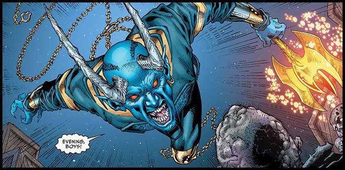 Синий Дьявол комиксы DC