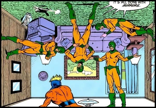 Зеркальный Мастер комикс DC