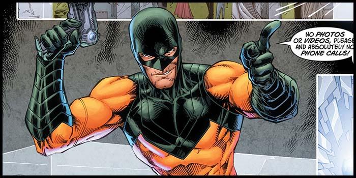 Зеркальный Мастер new 52 комикс DC