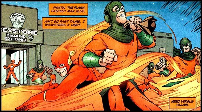 Зеркальный Мастер комикс история DC