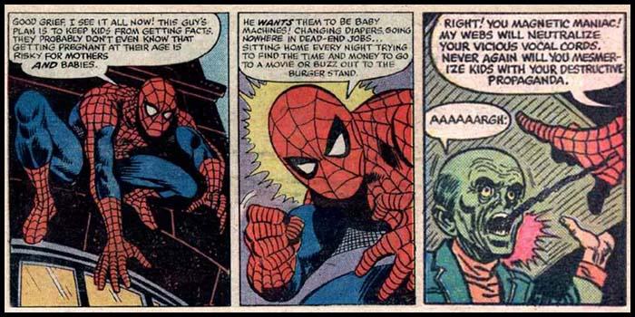 Секс человеком пауком и мальчиком видео