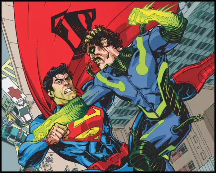 Криптонитовый человек против Супермена