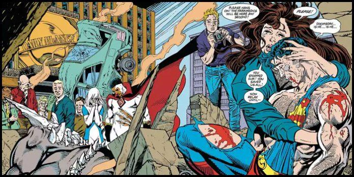Думсдэй победил Супермена