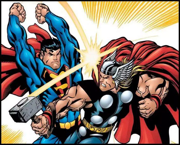 Мстители против Супермена