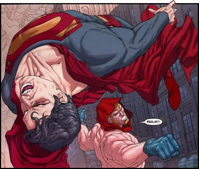 Атлас / Атлант победил Супермена