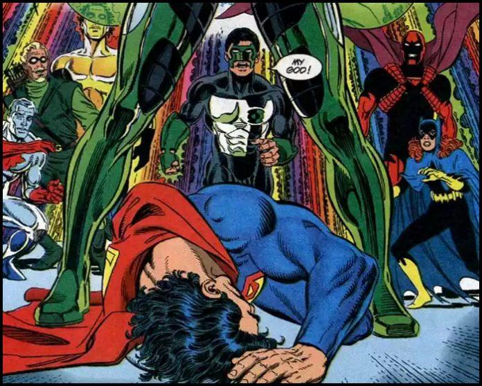 Зеленый Фонарь – Хэл Джордан победил Супермена