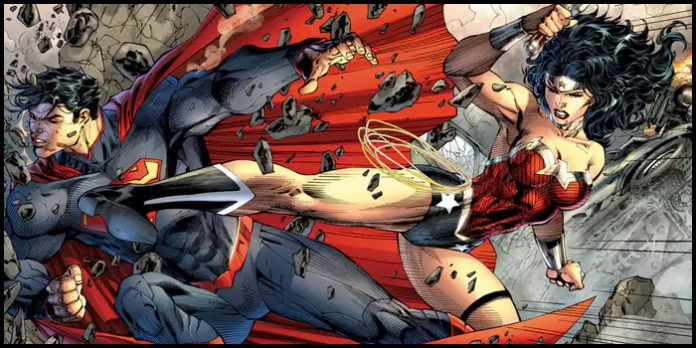 Чудо-женщина победила Супермена
