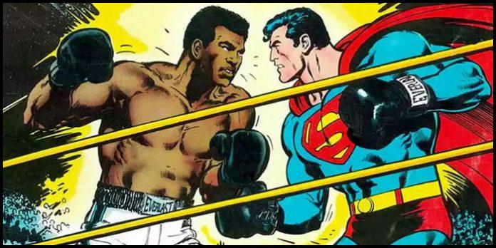 Мухаммед Али и Супермен