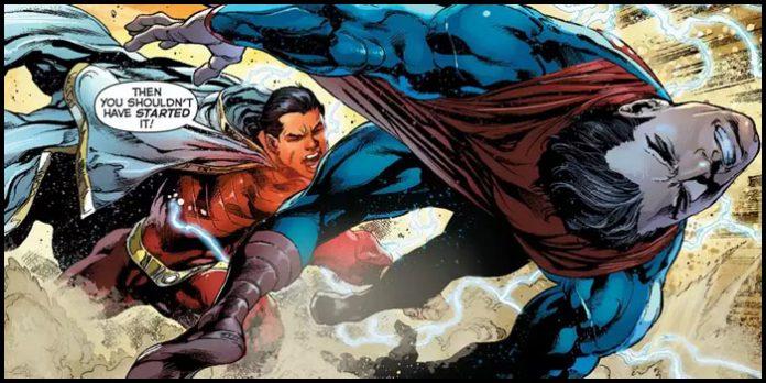 Капитан Марвел / Шазам победил Супермена