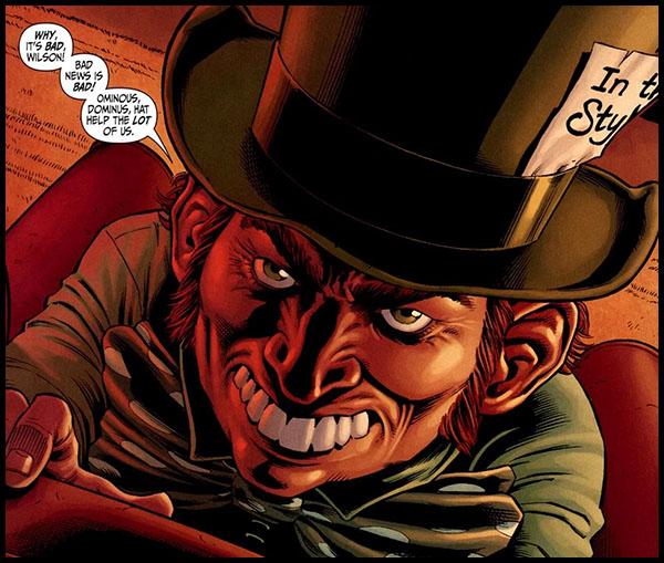 Mad Hatter Безумный Шляпник комиксы