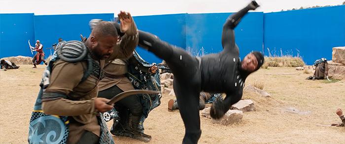 чёрная пантера спецэффекты