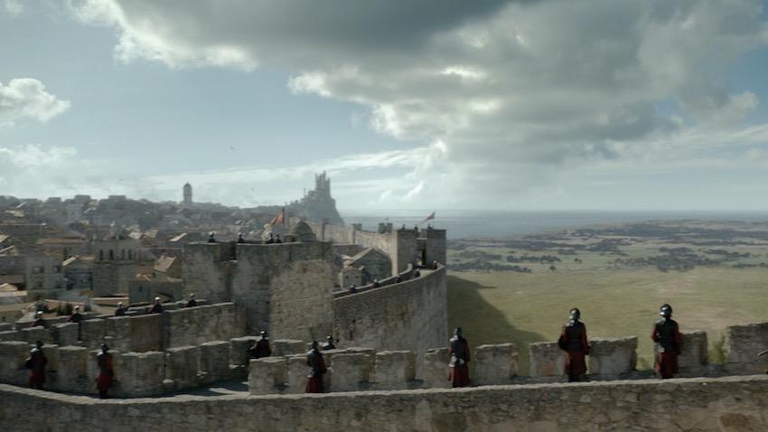 игра престолов спецэффекты