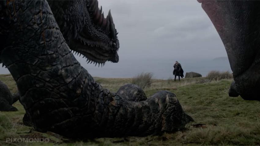 дракон игра престолов спецэффекты