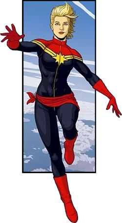 Капитан Марвел: Краткая история персонажа