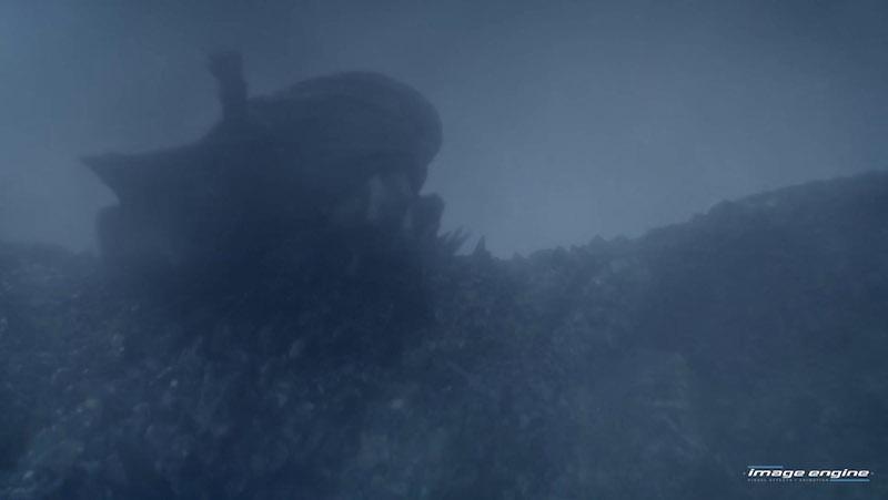 До и после спецэффектов: Игра престолов. 8 сезон