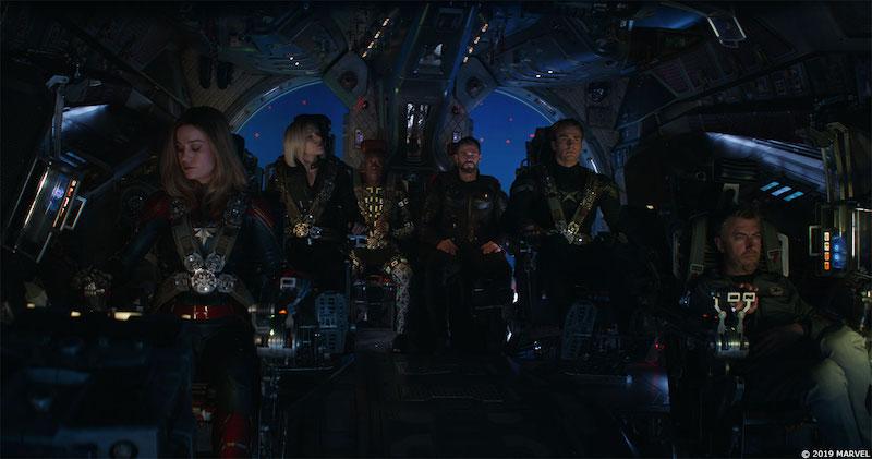 До и после спецэффектов: Мстители 4. Финал