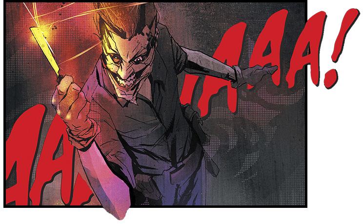 Джокер жестокие поступки