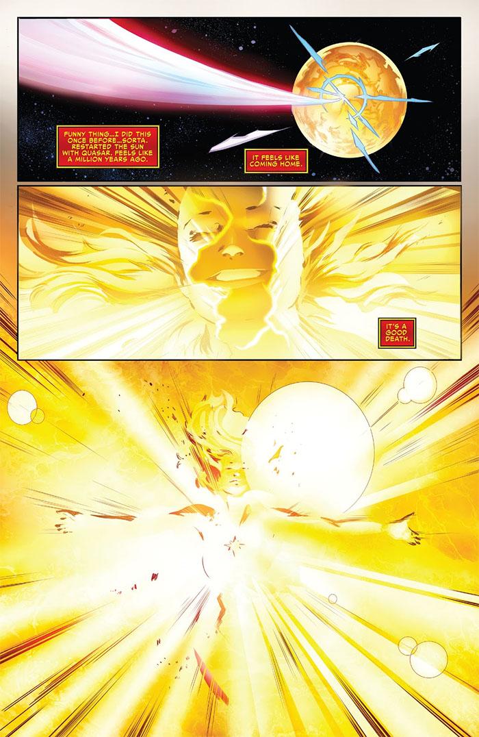 Смерть Капитана: Кэрол Дэнверс умерла в комиксах Marvel