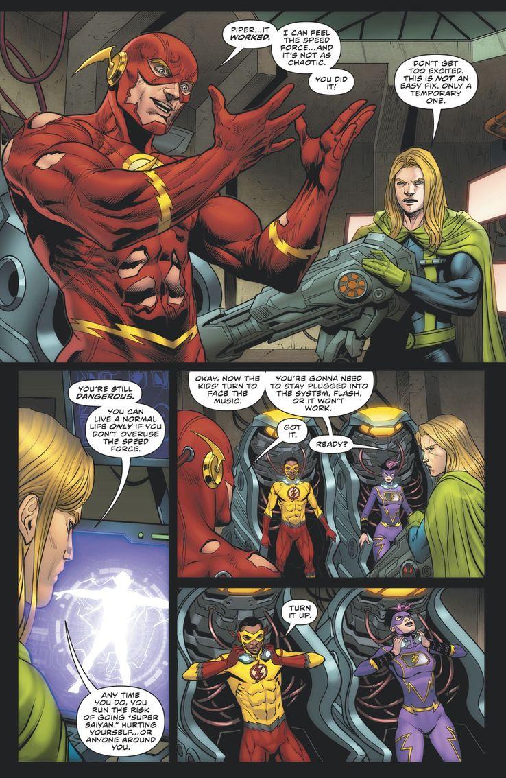 """В последнем комиксе Флэша выясняется, что франшиза """"Dragon Ball"""" существует и во вселенной DC"""