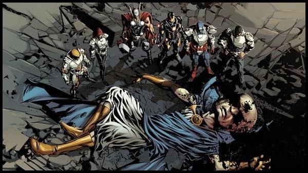 События в комиксах Marvel: Первородный грех