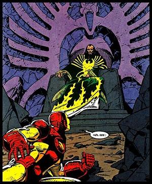 Мандарин против Железного Человека