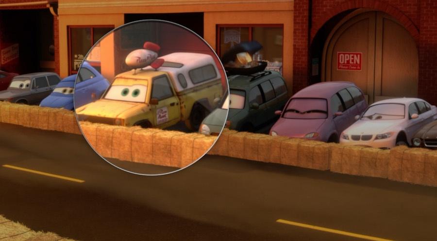 """Внедорожник """"Планета Пицца"""" в мультфильме """"Тачки 2"""""""