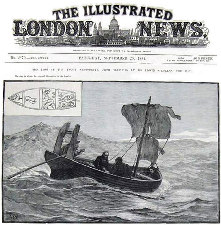 Первая полоса газеты с рассказом об этих событиях